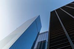 New York City / USA - AUG 22 2018: World Trade Center exterior r stock photos