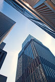 New York CIty, USA business buildings Stock Image