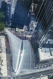 World Trade Center station PATH in Manhattan in New York City, USA stock image