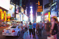 Time Square at night Royalty Free Stock Images