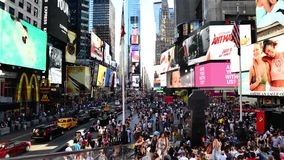 Time Lapse Times Square in New York