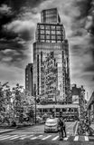 Astor Place Tower B&W royalty free stock photography