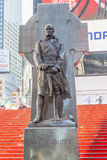 New York City, USA- May 20, 2014. Statue Of Father Francis D. Du Stock Image