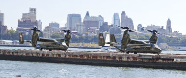 NEW YORK CITY, USA,  MV-22 Osprey Stock Photography