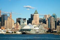 NEW YORK CITY, USA - New York Uptown and Intrepid Stock Photos