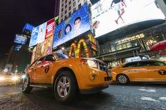 NEW YORK CITY, USA - Times Square Stock Photos
