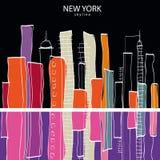 New York city. Vector illustration Stock Image