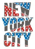 New York City. Vector image Royalty Free Stock Photos