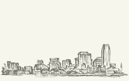 New York City. Vector sketch vector illustration