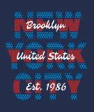 New York City vektorimaga Arkivbilder