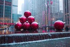 New York City, vereinigt Zustände - Dezember, 9., 2017 Stockfoto