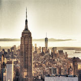 New York City. View of the New York City - HDR image Stock Photo