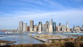 New York City View Stock Photo