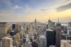 New York City View Stock Photography