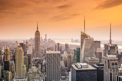 New York City View Royalty Free Stock Photography