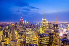 New York City View Stock Image