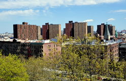 New York City: Vista de Harlem Foto de Stock Royalty Free