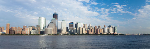 New York City w del centro la torretta di libertà Fotografia Stock Libera da Diritti