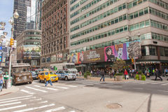 New York City Walk Royalty Free Stock Images