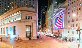 New York City Wall Street Stock Photos