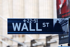 New York City Wall Street Stockfotografie