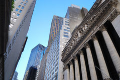 New York City Wall Street Fotos de Stock
