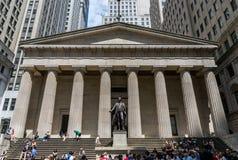 New York City Wall Street Imagem de Stock Royalty Free