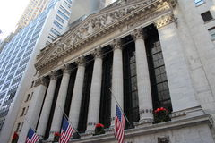 New York City Wall Street Stock Photography