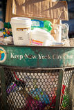 New York City waste disposal Stock Photo