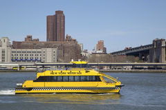New York City Water Taxi Royalty Free Stock Photo