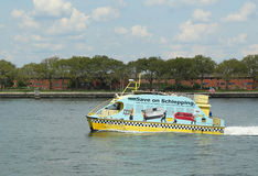New York City Water Taxi Royalty Free Stock Images