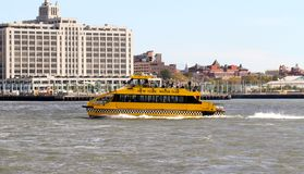 New York City Water Taxi Stock Photo