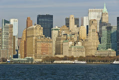 New York city waterfront Stock Image