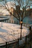 Winter New York City USA Stock Photo