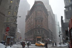 New York City in the winter Stock Images