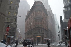 New York City in the winter Royalty Free Stock Photo