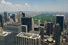 New York City y Central Park Fotografía de archivo libre de regalías