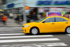 New York City Yellow Taxi Royalty Free Stock Image