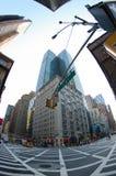 New york city zebra crossing Royalty Free Stock Photos
