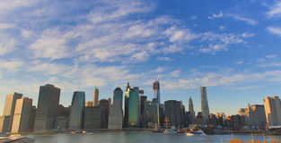 New- York Cityansicht stockfoto