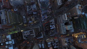 New- York Cityantenne stock footage