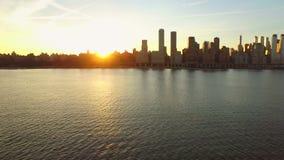 New- York Cityantenne stock video footage