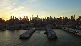 New- York Cityantenne stock footage