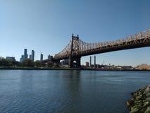 New- York Citybrücke, Queensboro Bridge, NYC, NY, USA Lizenzfreies Stockfoto