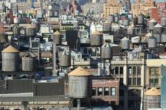 New- York Citydächer Stockfotos
