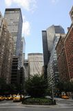 New- York Citydschungel Stockbild