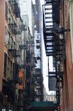 New- York Citygasse stockfotografie