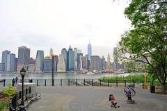 New- York Citygebäude Stockfotografie