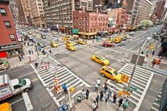 New- York Citygrenzsteine, USA. Lizenzfreies Stockbild