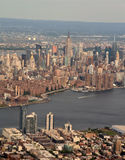New- York CityLuftaufnahme stockbilder